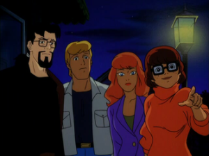 Fred, Daphne and Velma with Ben Ravencroft