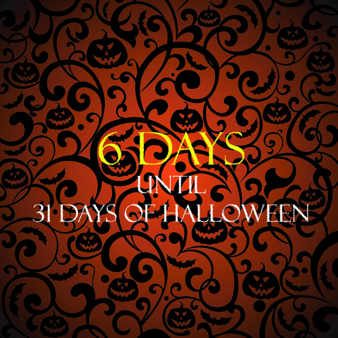 31 days of halloween? yes, please! | ryan r palmer, author