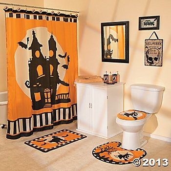 Halloween Bathroom Collection. Again, Stick This In Your Guest Bathroom. If  Your Guests And Family Are Not In The Mood For Halloween, Well You Just  Gave ...