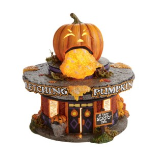 The barfing jack-o'-lantern is a nice touch