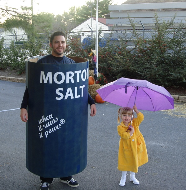 70a6554c3146d8bf1c2d4d05f579b75c. Morton Salt.  sc 1 st  Ryan R Palmer Author & Father / Daughter Halloween Costume Ideas | Ryan R Palmer Author