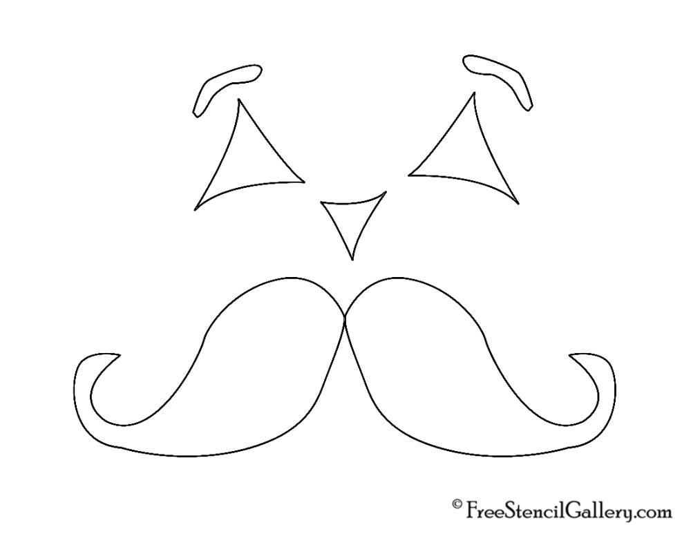 Family Friendly Jack-O'-Lantern Stencils (5/6)