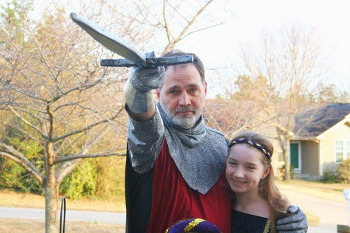 Father / Daughter Halloween Costume Ideas (4/5)