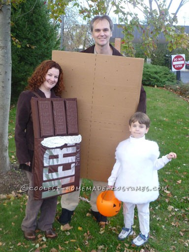 marshmallow-chocolate-bar-graham-cracker-a-bit-of-  sc 1 st  Ryan R Palmer Author : father and daughter halloween costumes  - Germanpascual.Com